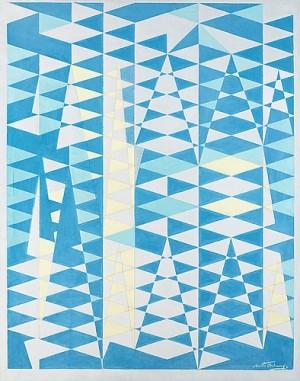 Cathedrale Bleue by Bertil ÖHLUND