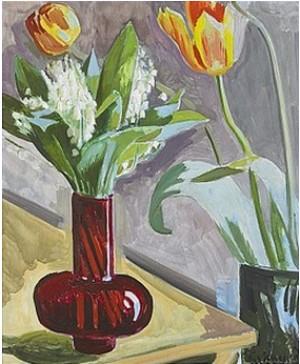Blommor I Vas by Isaac GRÜNEWALD