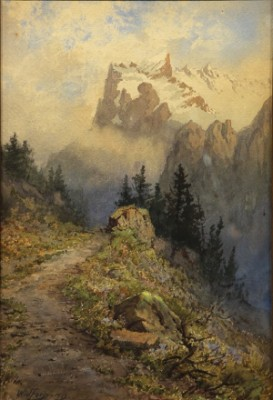 Mountain Path by Gunnar WIDFORSS