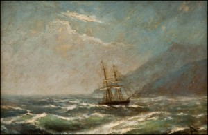 Stormy Waters by Ivan Konstantinovich AIVAZOVSKY