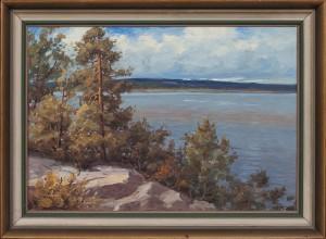 Landskap Med Vatten by Arthur HEICKELL