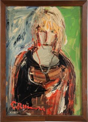Porträtt Av Dam by Helmut MANTEL