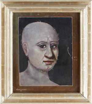 Motiv Med Ansikte by Zoltan Von BOER