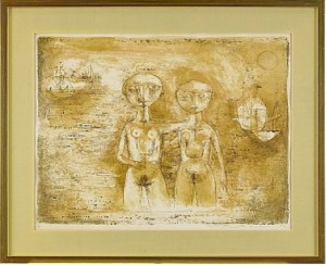 Les Grandes Baigneuses by ZAO WOU-KI