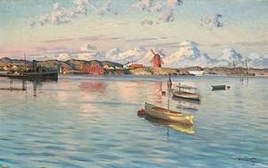 Sommarmotiv Från Marstrand by Johan ERICSON