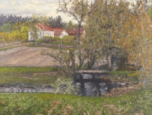 Larsbo Bruks Herrgård, Dalarna by Anshelm SCHULTZBERG