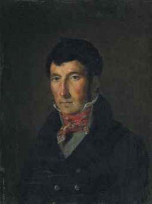 Portrait De Fougerat by Eugène DELACROIX