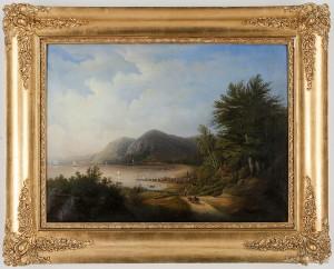 Pastoralt Landskap Med Hästdragen Vagn by Teodor BILLING