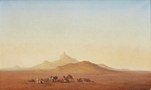 Rastande Beduiner by Henrik ANKARCRONA