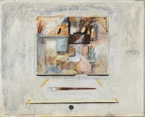 Komposition Med Pensel by Jørgen WARING