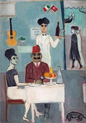På Restaurang, Venedig by Einar JOLIN