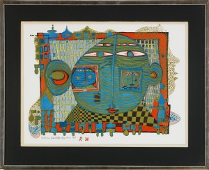 Good-bye From Africa by Friedensreich HUNDERTWASSER