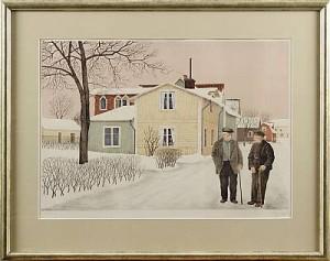 Motiv Från Trosa by Reinhold LJUNGGREN