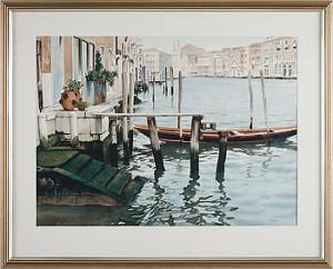 Kanal I Venedig by Stephen CLARK