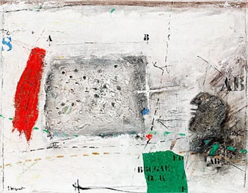 Tête Et Zone Perturbée by James COIGNARD