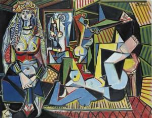 Les Femmes D'alger (version 'o') by Pablo PICASSO