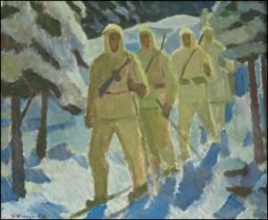 Nattlig Patrull by Veikko VIONOJA