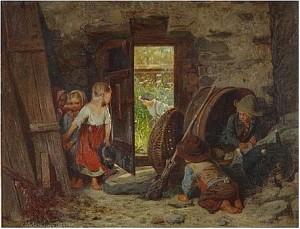 Kurragömma by Julius KRONBERG