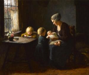 Maternal Love by Bernard POTHAST