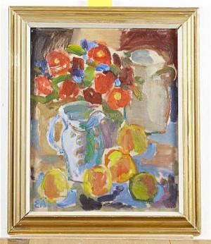 Blomsterstilleben by Erling ÄRLINGSSON