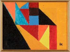 Geometrisk Komposition by Ingegerd TORHAMN