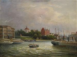 Utsikt Mot Skeppsholmen - Stockholm by Ernfried WAHLQUIST