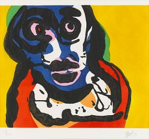 Visage by Karel APPEL