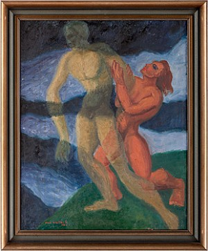 Figurer Vid Hav by Max Walter 'Max Walters' SVANBERG