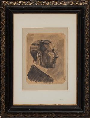 Porträtt Av Verner Von Heidenstam by Teodor HEURLIN