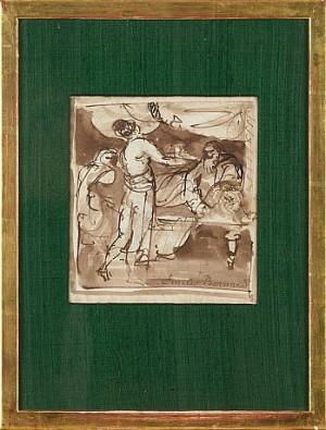 Interiör by Emile Henri BERNARD