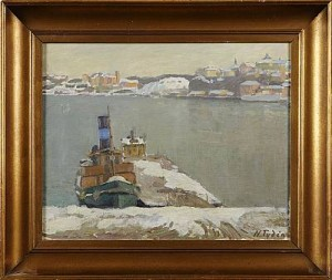 Pontonbrygga, Stockholm by Nils TYDÉN