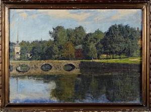 Ankdammen Rydboholm by Gottfrid KALLSTENIUS