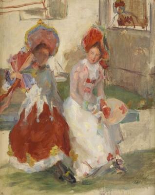 I Vänthallen - Sittande Kvinnor by Hanna PAULI