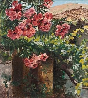 Spansk Trädgård, Motiv Från Granada by Peder Severin KRØYER