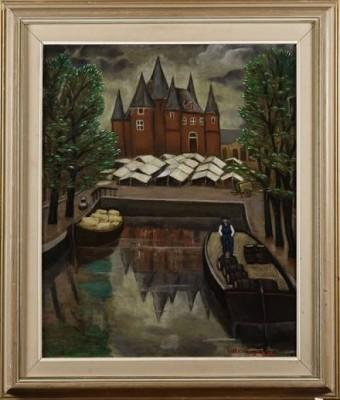 Hamnmotiv by Hilda HEYMAN