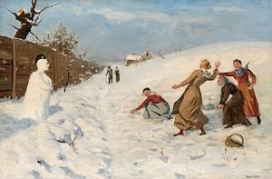 Vinterlek by Hans DAHL