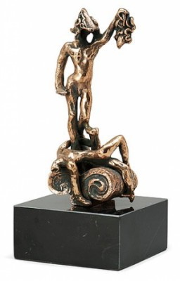 Perseus- Hommage To Benvenuto Cellini by Salvador DALI