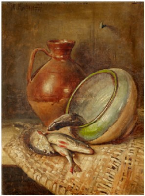 Still-life With Fish by Julij Julevic The Younger KLEVER