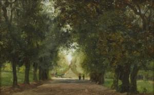 Allé I Rom by Olof ARBORELIUS
