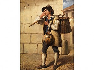 Italienischer Jüngling by Louis GALLAIT