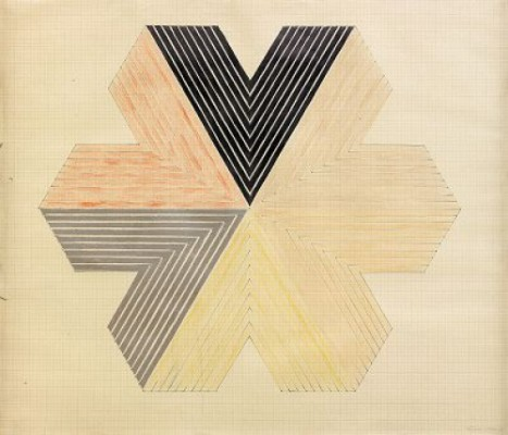 Star Of Persia by Frank STELLA