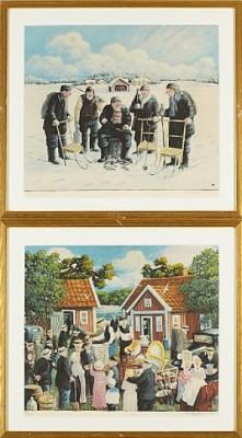2 St, Skärgårdsmotiv by Bert Håge HÄVERÖ