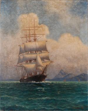 Skepp Till Havs by Otto LINDBERG