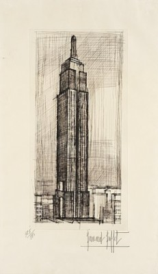 Empire State Building by Bernhard BUFFET