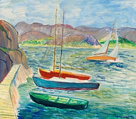 Segelbåtar by Ragnvald 'Ragnvald M' MAGNUSSON