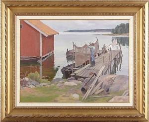 Sjöbodar by Bernhard OSCARSSON