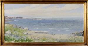 Kustvy by Birger Emmanuel HANSSON-BÖE