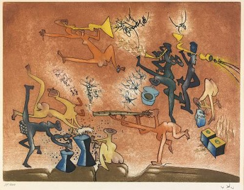 Jazz Bande by Roberto MATTA