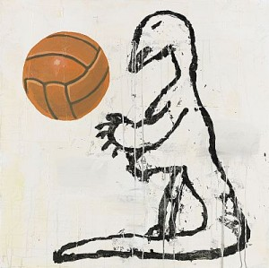 Untitled - Dino by Donald BAECHLER