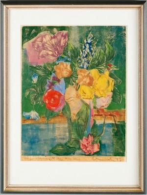 Blomsterstilleben by Adja YUNKERS